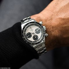 Rolex Paul Newman, Rolex Daytona Paul Newman, Rolex Watches For Men, Luxury Watches For Men, Cool Watches, Vintage Rolex, Vintage Watches, Rolex 6263, Rose Gold Rolex