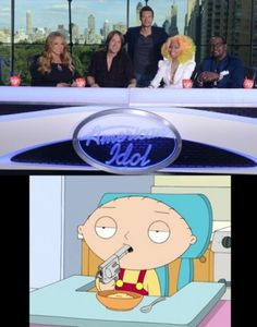 I'm with you Stewie! I've actually hated the show from day one...
