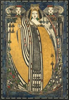 the white rose and the red rose by margaret macdonald mackintosh gesso panel charles rennie. Black Bedroom Furniture Sets. Home Design Ideas
