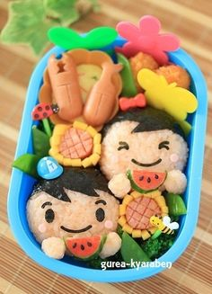 summer bento ♥ Bento