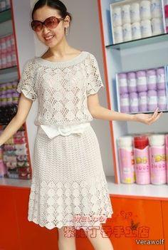 Платье крючком. Обсуждение на LiveInternet - Российский Сервис Онлайн-Дневников