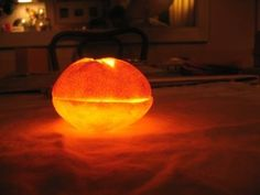 How To:  Make a Clementine Candle