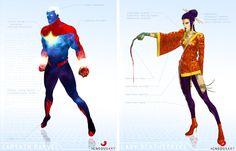 Marvel Remix by Igneous Art, via Behance