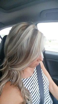Ash Blonde with Carmel low lites