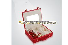 Cute Red Leather Jewelry Box - http://www.thepackagingpro.com/products/cute-red-leather-jewelry-box/