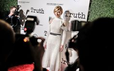 Cate Blanchett attends an industry screening of Sony Pictures Classics' 'Truth' at Samuel Goldwyn Theater in Beverly Hills