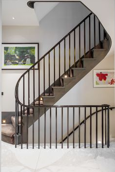 #Staircase at Ebury Street Project www.tlastudio.co.uk