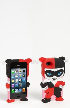 DC Comics 'Chara-Cover - Harley Quinn' iPhone Case... UGH.  I want it :o but its too expensive :p