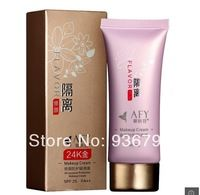 AFY 2014 makeup 24K GOLD face care Primer whitening BB & CC creams Sunscreen SPF25 PA+++ face care foundation concealer