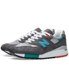 New Balance M998CSRR - Made in the USA 'Ski Pack' (Grey & Teal)