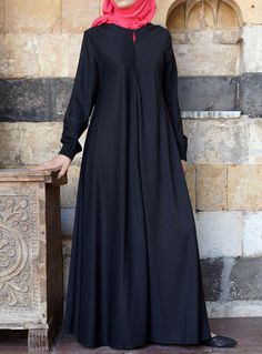 SHUKR USA | Easy Care Flared Abaya