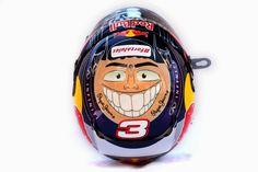 Daniel Ricciardo's Abu Dhabi Helmet