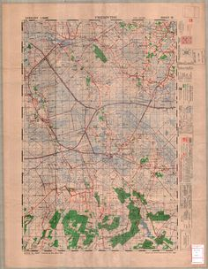 1948 freeway and trafficway plan for san francisco the post war this 150000 map of friesoythe on the dutch frontier was issued to publicscrutiny Images