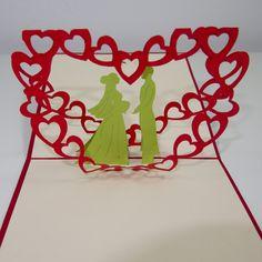 Eine weitere von unseren bezaubernden Karten  zum Thema Liebe und Hochzeit