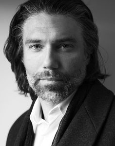 Anson Mount Personal Life | Anson Mount / Actor Megan Davis, Beautiful Men, Beautiful People, Fox Character, Anson Mount, Black Bolt, Hell On Wheels, Shows On Netflix, Black And White Portraits