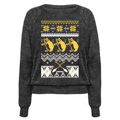 Hogwarts Ugly Christmas Sweater: Hufflepuff Pullover
