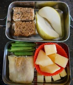 Bento for Baby: Bento for Baby 11:  Banana Bread and Zucchini and ...
