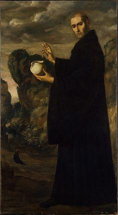 Saint Benedict by Francisco de Zurbarán (Spanish, Fuente de Cantos 1598–1664 Madrid) ca. 1640–45 Oil on canvas