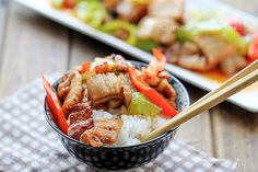 Easy Pork Stir fry with Peppers – China Sichuan Food
