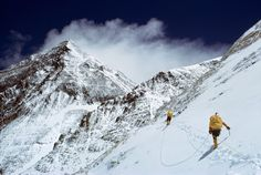 Mt. Everest South Col Route 1963