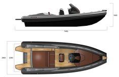 SPX RIB - SPX RIB 24 Yacht Design, Motor Boats, Rowing, Water Crafts, Sailing, Trains, Yachts, Military Vehicles, Fountain Powerboats