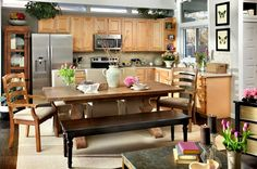 Spring is fast approaching, and that means breathing life into your dining room by bringing in fresh flowers and opening the windows. The Bellaire dining table is rustic and refined at the same tim. Place Settings, Table Settings, Dining Room, Dining Table, Good Night Sleep, Decorating Tips, Table Decorations, Fresh Flowers, Spring