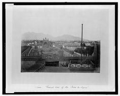 Lima. The general view of the Paseo de Aguas, 1868  Fuente: Library of the Congress