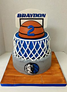 Dallas Mavericks Cake