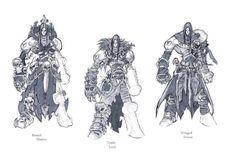 Darksiders II armour concepts Necromancer by DawidFrederik.deviantart.com on @deviantART