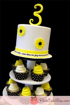 """You are my sunshine"" Birthday Cupcake Stand . This is a song I sing to my kids al the time!!! I need this! !"