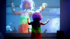 I created 2 Interactive Installations + 2 Projection Mappings for our event:  COLOR WARRIORS.     by WILLPOWER STUDIOS | WILLIAM ISMAEL | www.WillpowerStudios.com