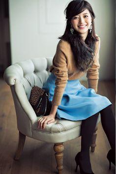 【今日のコーデ/逢沢りな】挨拶まわりの月曜日はきちんとフェミニンで♡ | ファッション(コーディネート・流行) | DAILY MORE