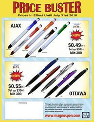 Magnus Pen is a manufacturer of high-quality Metal, Wood and Plastic pens to the promotional products industry. July 31, Summer, Stuff To Buy, Summer Time