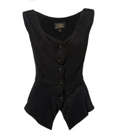 Sunday Blouse in black by Vivienne Westwood #style #fashion #black