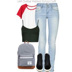 Teen Wolf - Liam Dunbar Inspired School Outfit