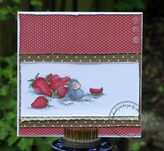 Samantha @ Penrith Crafts: Wanna bit of chocolate with those Strawberries?