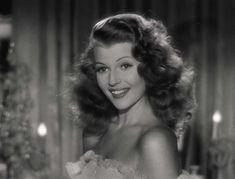 """Decent ? Me ?""   Rita Hayworth, dans Gilda"