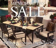 memorial day sale patio