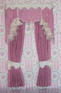 Amazing Wootens Miniatures Handcrafted Dollhouse Miniatures   Dollhouse Curtains    Chapmansboro, TN | Miniature World~ | Pinterest | Swag Curtains, Miniatures  And ...