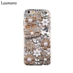 Cheap cover for iphone, Buy Quality cover for iphone 4s directly from China case cover Suppliers: Laumans Bling Diamond Rhinestone handbag Hard Case Cover for iphone4s 5s 5c 6s 6plus 7 8 plus X flower Handmade Phone back shell