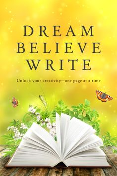 Unlock your creativity~one page at a time.  From the authors at Four Carat Press comes a unique writing journal for fiction writers