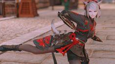 くノ一 | MIRAPRI SNAP Final Fantasy Female Characters, Final Fantasy Xiv, Glamour, The Shining