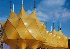 Pavilions at Expo '70, Osaka.