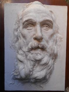 V. Ragusa, Testa di vecchio con la barba, Coll. privata Palermo. [foto M. Reginella]
