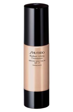 SHISEIDO 'RADIANT LIFTING' FOUNDATION SPF 17. #shiseido #