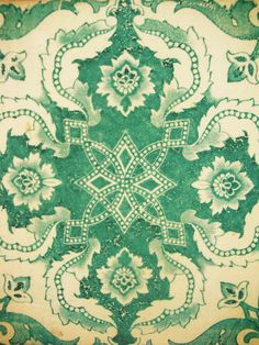 lisboa print want to paint this pattern on my kitchen floor! Motifs Textiles, Textile Patterns, Textile Design, Fabric Design, Surface Pattern, Pattern Art, Surface Design, Pattern Design, Pretty Patterns