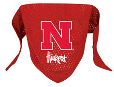 Nebraska Corn Huskers NCAA Licensed Dog Bandana