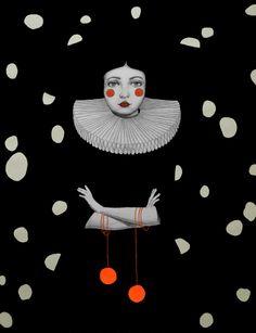 Rodinia in Black by Sofia Bonati
