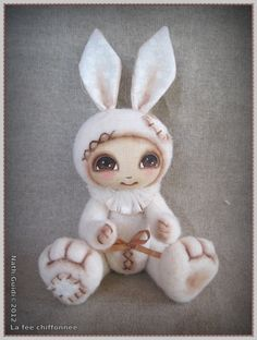 Wooly-rabbit blanc €33.00