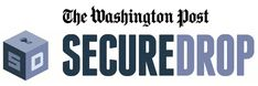 SecureDrop - The Washington Post  What is SecureDrop?    The Washington Post's SecureDrop is a discreet way for readers to share messages and materials with our journalists. It offers greater security and anonymity than conventional e-mail and Web forms.    How do I use it?  SecureDrop relies on Tor, an application designed to encrypt your communications and obscure your computer's IP address.